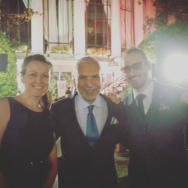 Festa della Repubblica Italiana con l'Ambasciatore Stefano Sannino e Paolo Sapio