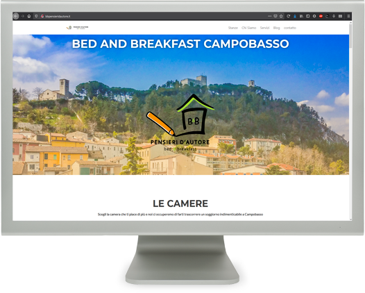 diseño web bed and breakfast