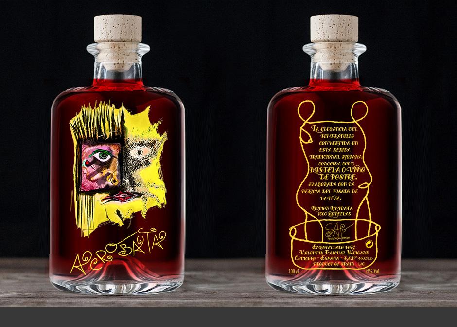 Etiqueta vino rioja
