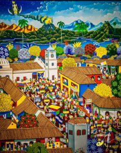 perfume del vino - Pintura Contemporánea Nicaragüense (13)
