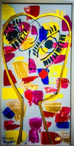 perfume del vino - Pintura Contemporánea Nicaragüense (7)