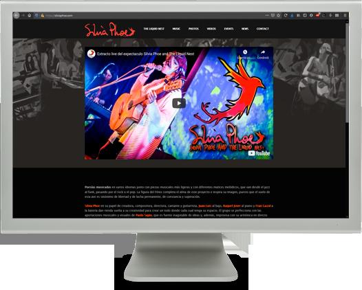 diseño-web-cantautora-Silvia-Phoe