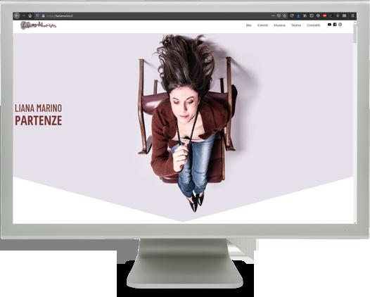 diseño web cantautora