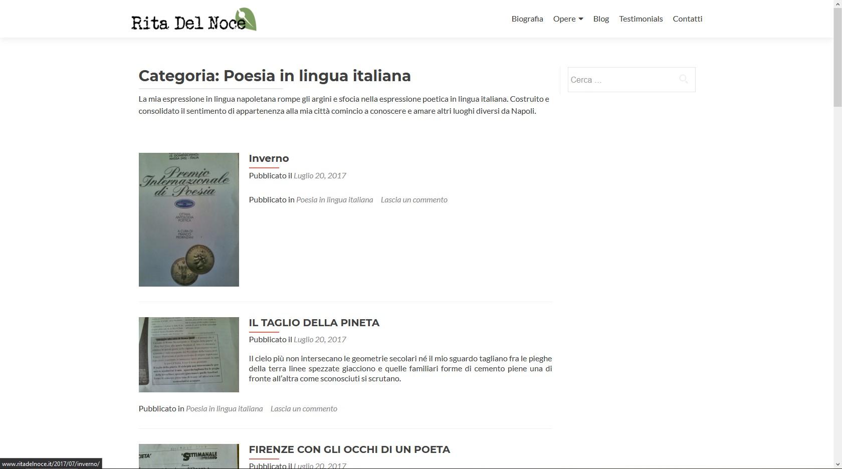 blog poetisa italiana