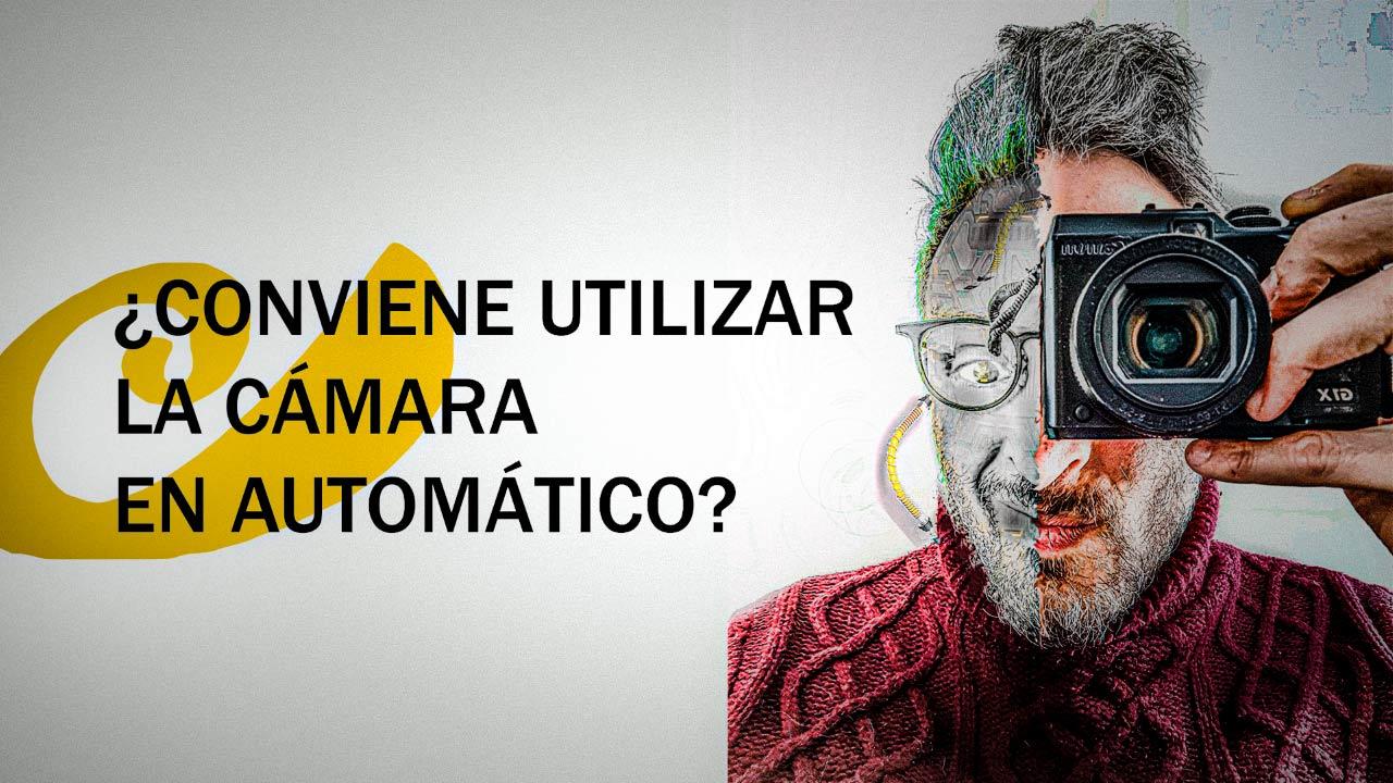 cámara en automático