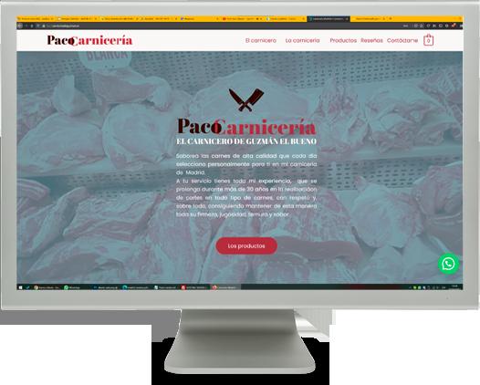 web-carniceria-paco
