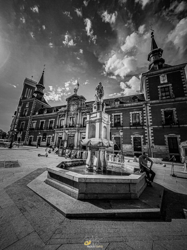fuente de Orfeo Madrid